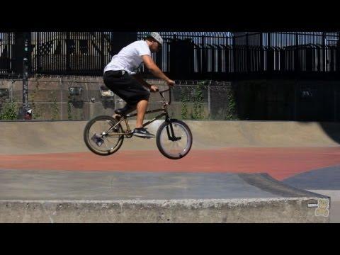 How to Do Half Cabs | BMX Bike Tricks