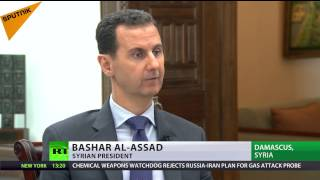 Chemical 'attack' was false flag to justify strike on airbase – President Assad