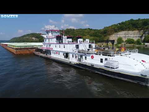 The Big Towboat M/V Justin Paul Eckstein