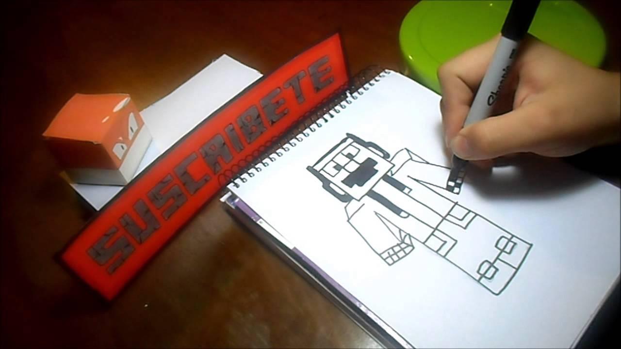 Dibujando Skin ProPedroGamer (Minecraft) - YouTube
