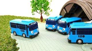 Мультики для детей — Автобус Тайо и его двойники
