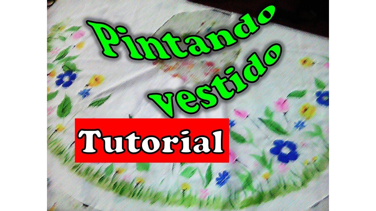 Facil Como Pintar Vestido Para Niña Javier Endes Sombreros Pintados A Mano