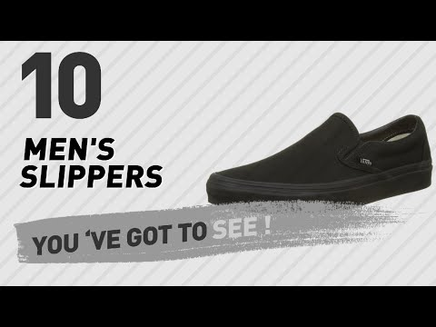 Top Mens Slippers Uk New Popular