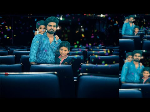 Photoshop tutorial | Ajay and sons celebrating birthday party thumbnail