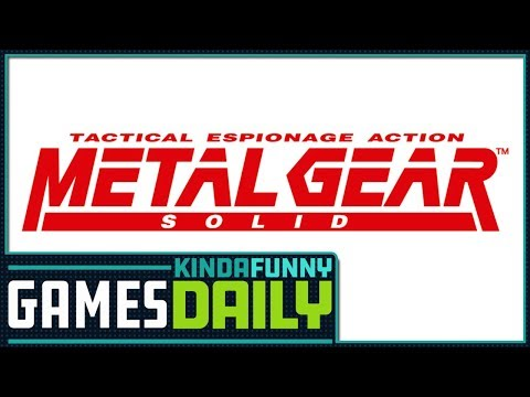 The Metal Gear Solid Movie Might Be Awesome - Kinda Funny Games Daily 09.01.17