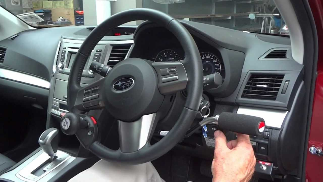 mobility mods in subaru legacy 2012 - youtube