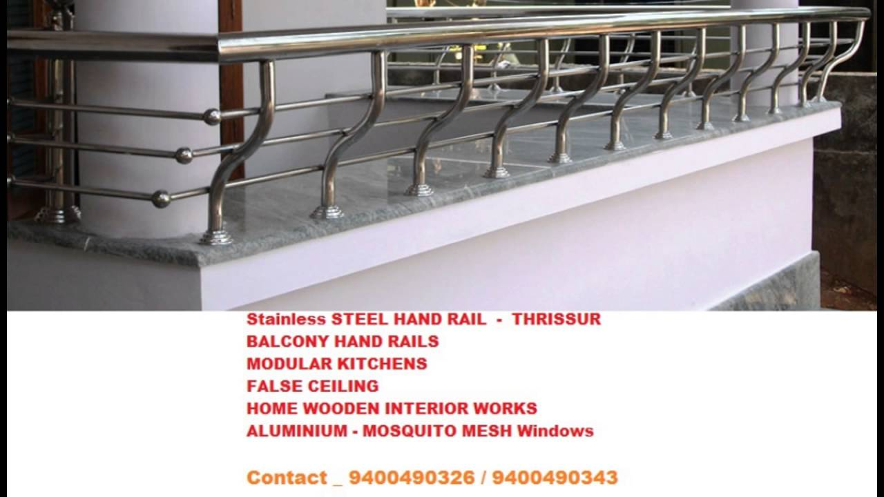 Stainless Steel HAND Rail  THRISSUR   Call 9400490326