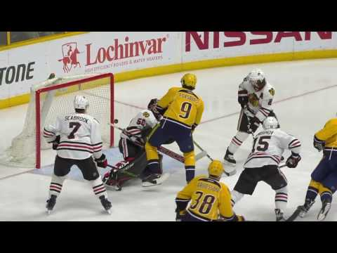 Chicago Blackhawks vs Nashville Predators - March 4, 2017 | Game Highlights | NHL 2016/17