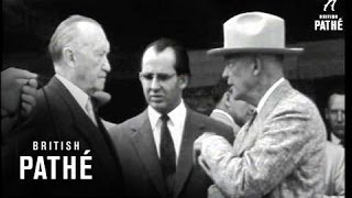 Adenauer In USA - Gettysburg And New York (1957)