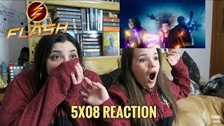 """THE FLASH 5X08 """"WHAT'S PAST IS PROLOGUE"""" REACTION"""