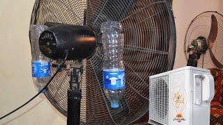 بالفيديو – بسبب غلاء التكييفات.. كيف تبرد هواء المروحة بدون تكلفة؟
