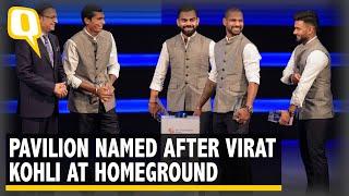 Highlights: Virat Kohli's Pavilion at DDCA as Stadium Renamed After Arun Jaitley   The Quint