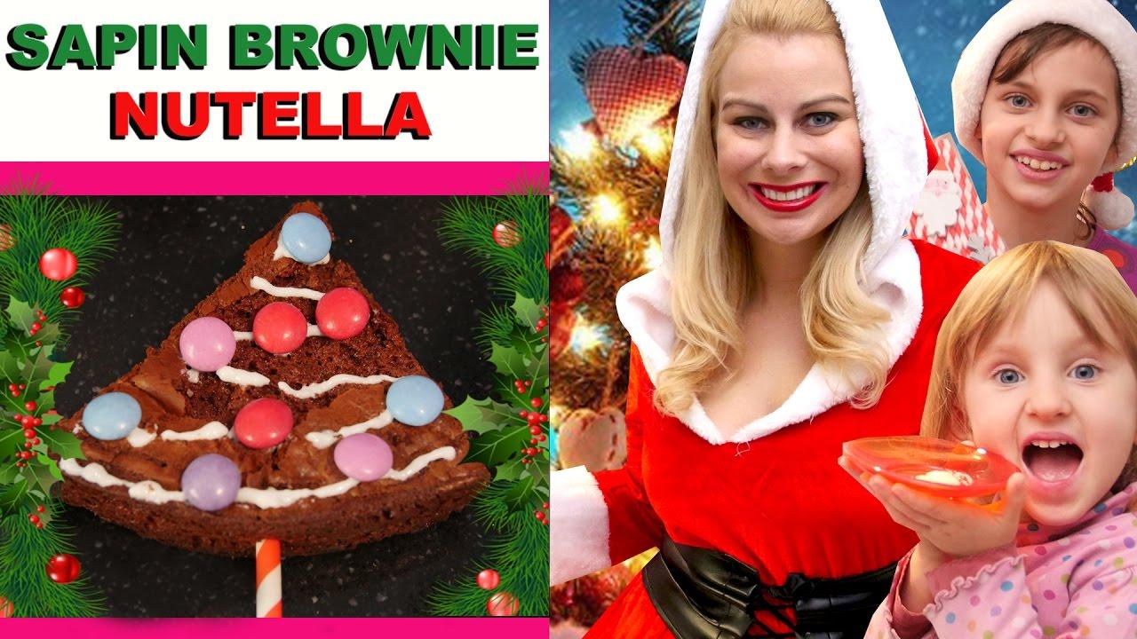Sapin brownie nutella ft studiobubbletea virginie fait - Samantha fait sa cuisine ...