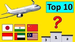 Top 10 Largest Airlines in Asia