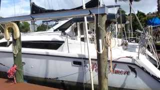 Video of my boat.  Gemini 105 Mc Catamaran 1998 for sale.  Per Amore hull # 618