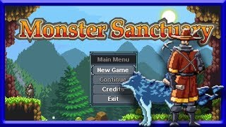 Monster Sanctuary! É Pokemon + Metroid + Castlevania!