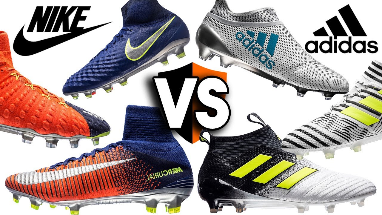 Nike v adidas - Who Wins? Time To Shine vs Dust Storm. Football Boots
