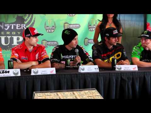 2011 Monster Energy Cup Press Day