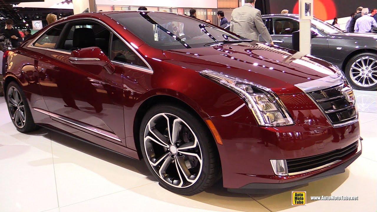 2016 Cadillac Elr Exterior And Interior Walkaround Detroit Auto Show