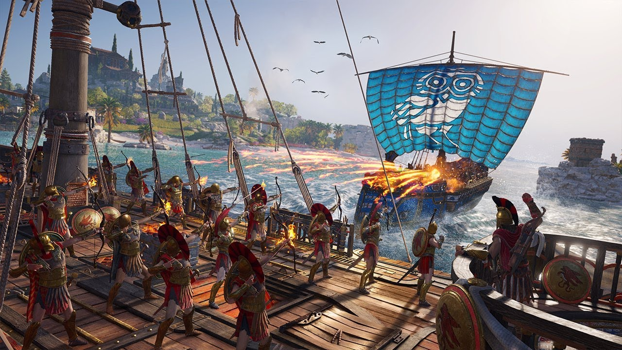 Image result for assassin's creed odyssey naval