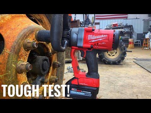 """Testing a Milwaukee 1"""" m18 impact"""