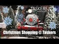 Christmas Decoration Shopping @ Taskers - Christmas Lights, Scenes & Ornaments