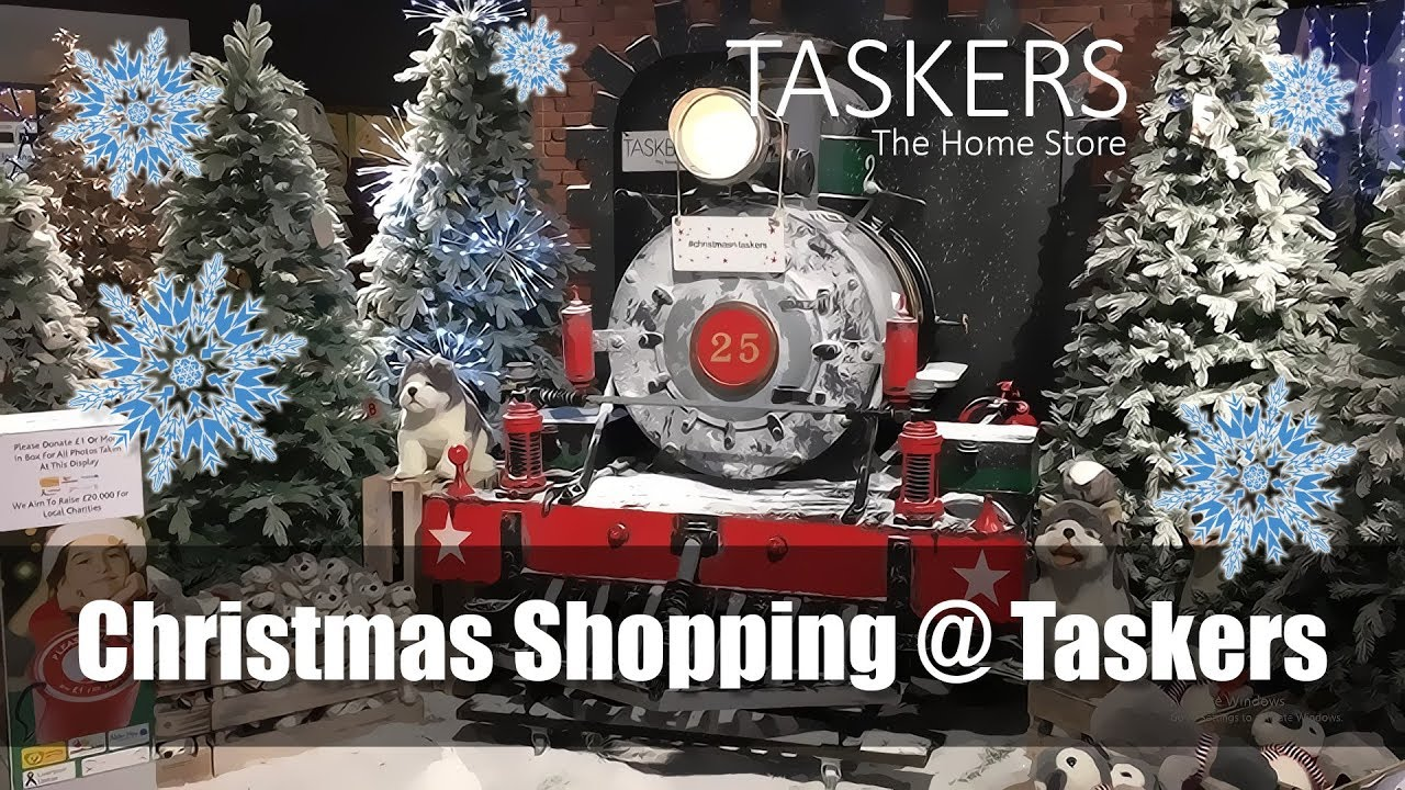 Christmas Decoration Shopping @ Taskers - Christmas Lights, Scenes ...