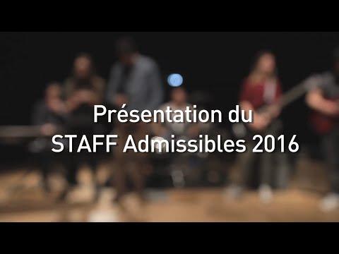 Staff Admissibles ESC Troyes 2016