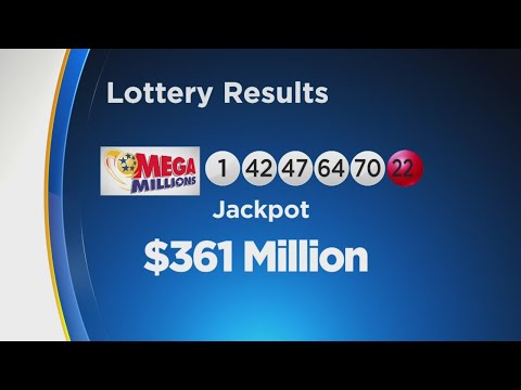 And The Mega Million Numbers Were ...