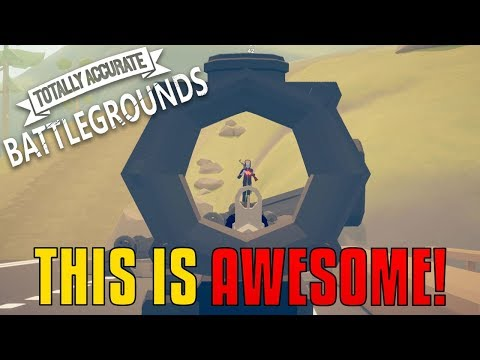 Totally Accurate Battlegrounds Gameplay - THIS IS AWESOME!