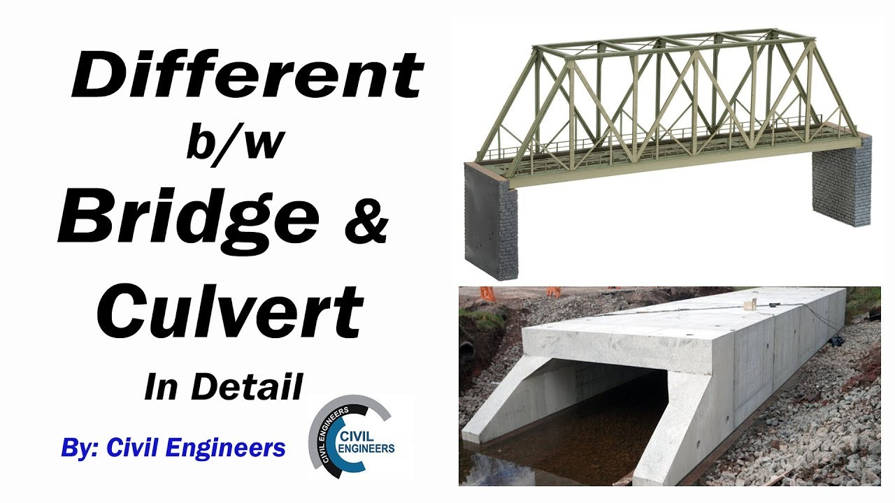 different between bridge and culvert