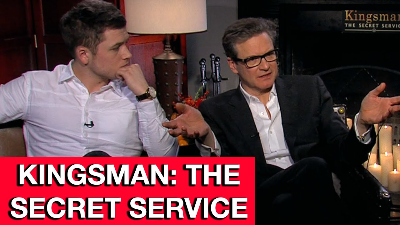 Exclusive Colin Firth Taron Egerton And Sophie Cookson: Kingsman The Secret Service Interview