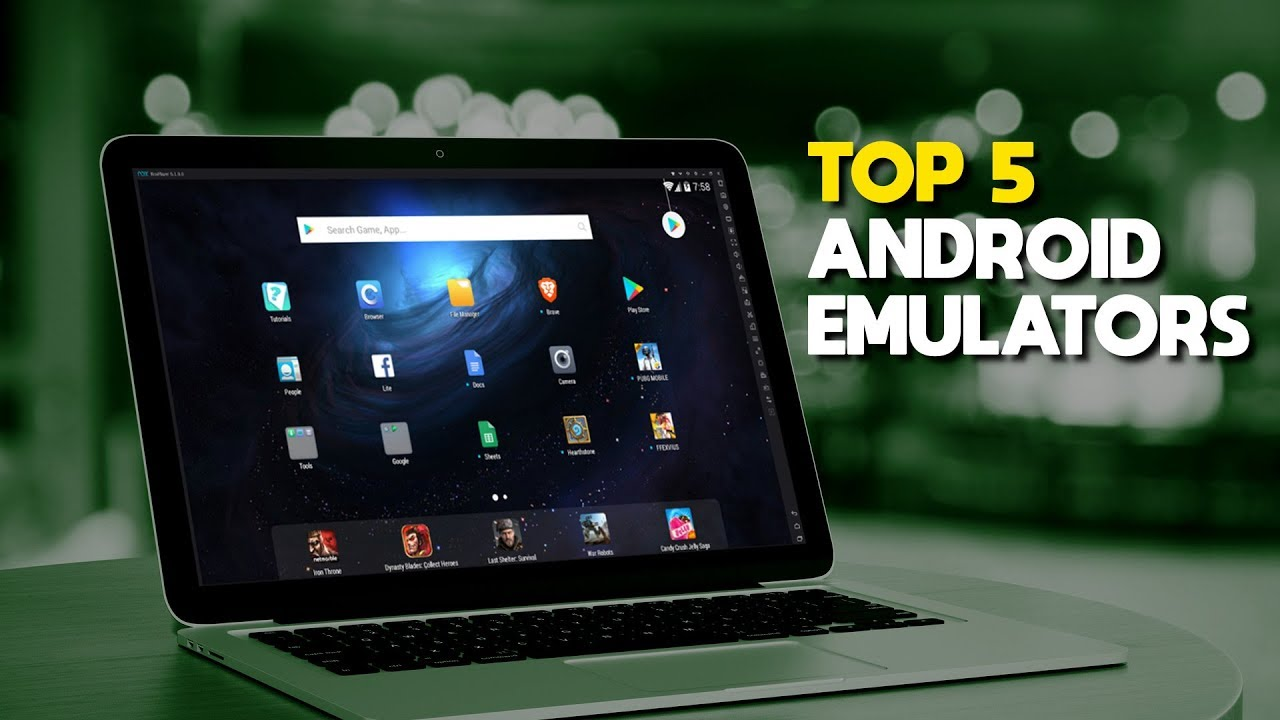 Top 5 Best Android Emulators For Pc Youtube