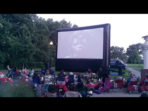 why we need a Inflatable movie screen for party