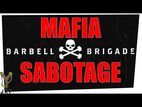 Mafia | Roles Hidden | Sabotage of Barbell Brigade | Ft. Gina Darling