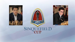 Ле Куанг Льем vs Фабиано Каруана (Четвертый этап Grand Chess Tour 2017 - Сент-Луис) - 1 тур