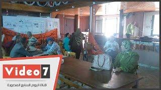 توافد أصحاب المعاشات على مقر التجمع للمشاركة فى حفل إفطار بالعيش الحاف