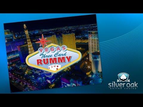 Watch Vegas Three Card Rummy Video From Silver Oak Casino