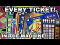 BIG ZEROS! NICE WIN! EVERY TICKET IN THE MACHINE CHALLENGE!