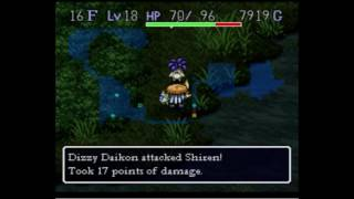 Mystery Dungeon: Shiren the Wanderer SNES Part 2