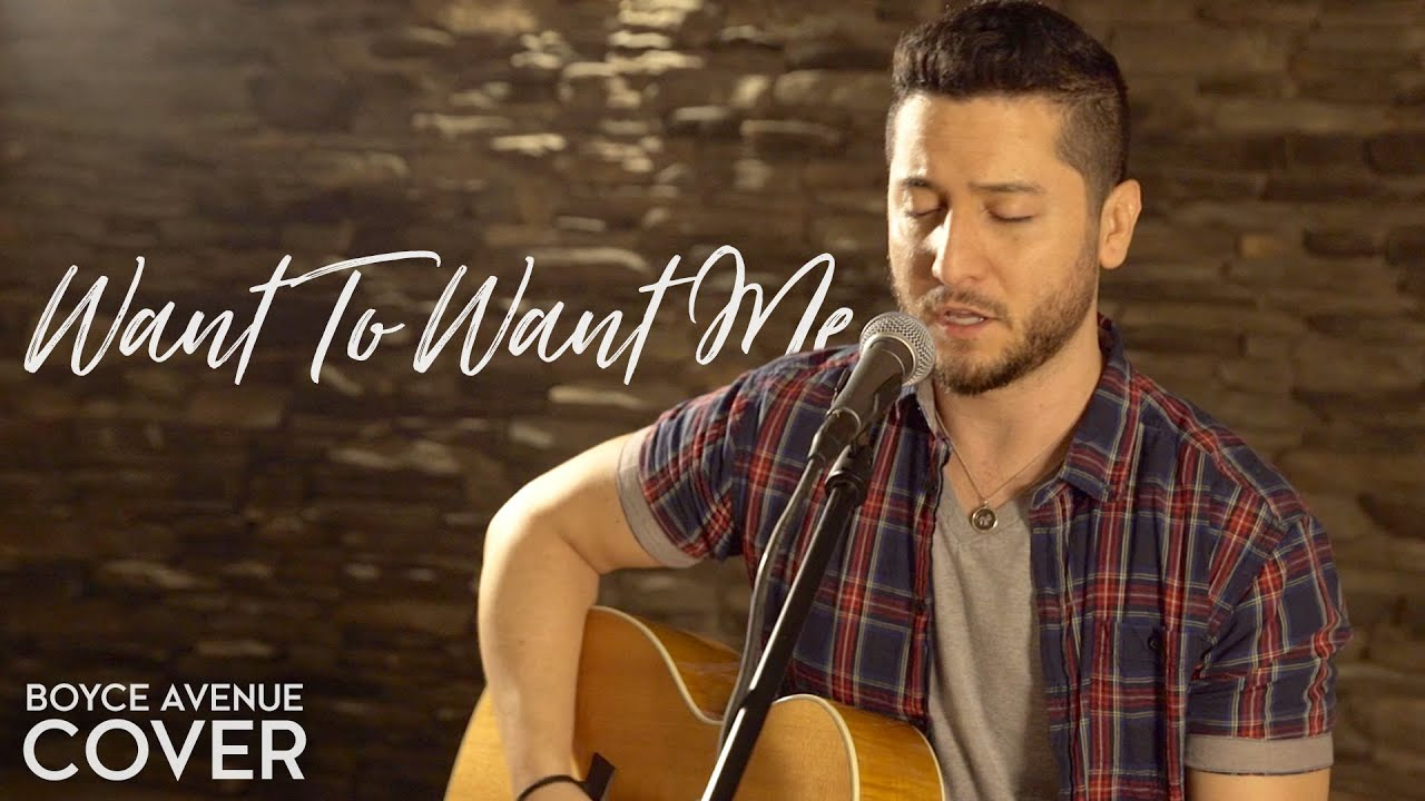 Want To Want Me — Jason Derulo (Boyce Avenue acoustic cover) on Spotify & Apple