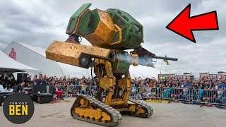 ¿Has Visto Un MegaBot En Acción? | Máquinas Que Debes Ver En Acción Al Menos Una Vez En La Vida