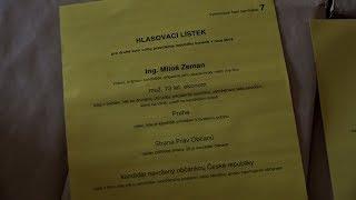 Pozvánka na volby Prezidenta ČR 2. kolo