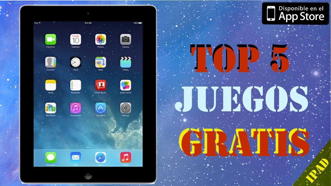 Los 5 Mejores Juegos Gratis Para Ipad Septiembre 2013 Youtube
