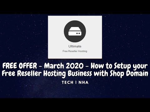 Free Reseller Hosting Business Setup with Shop Domain