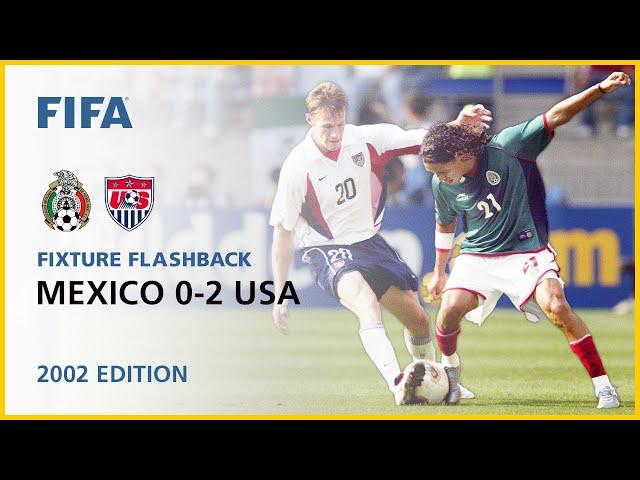 Mexico 0-2 USA | Korea/Japan 2002 | FIFA World Cup