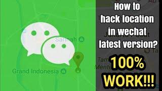 Trik LOKASI PALSU WeChat, terbaru Desember 2017