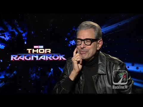 Jeff Goldblum Interview Thor Ragnarok