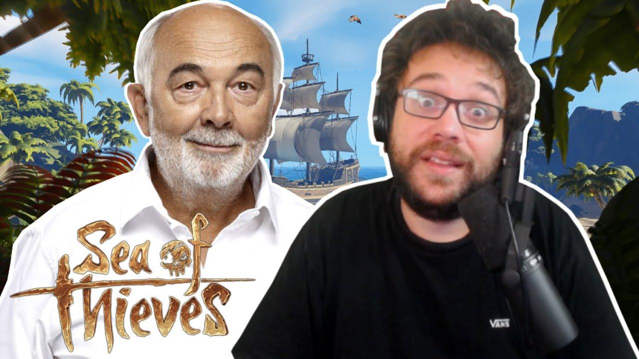 GÉRARD JUGNOT EN TROUPLE (Sea of Thieves)