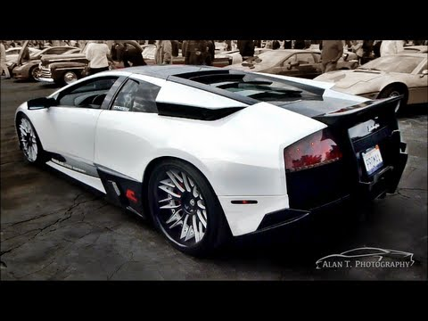 Lamborghini Murcielago Lp640 4 Sv Kit Engine Sound Youtube